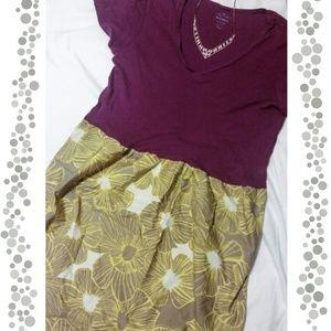 Old Navy Purple T-shirt Dress
